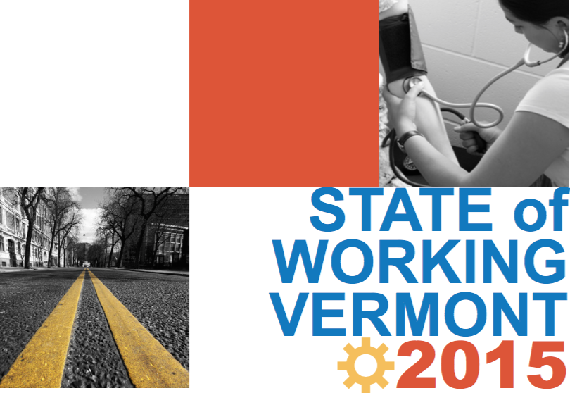 Public Assets Institute: State of Working Vermont 2015