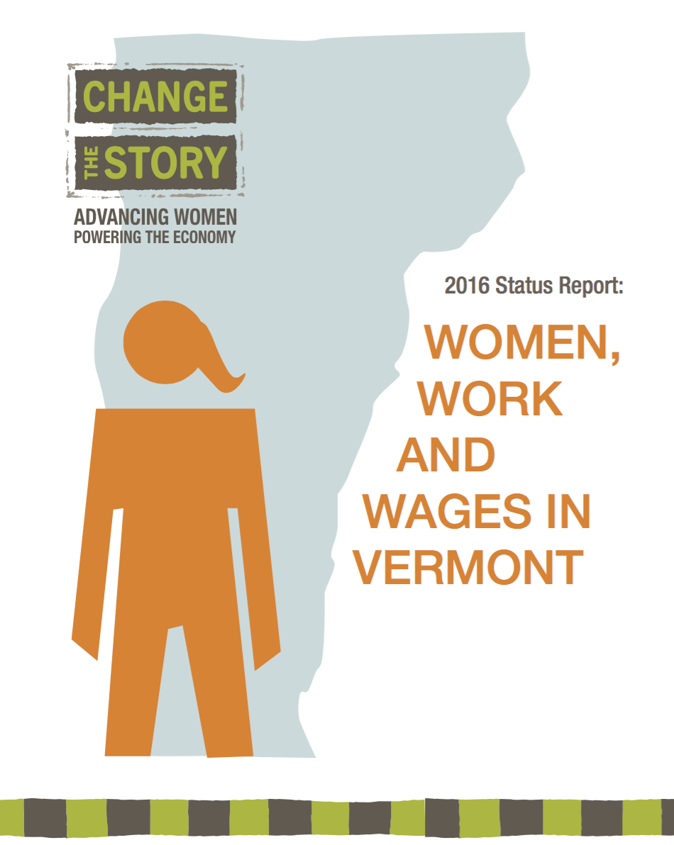 2016 Status Report: Women, Work and Wages in Vermont
