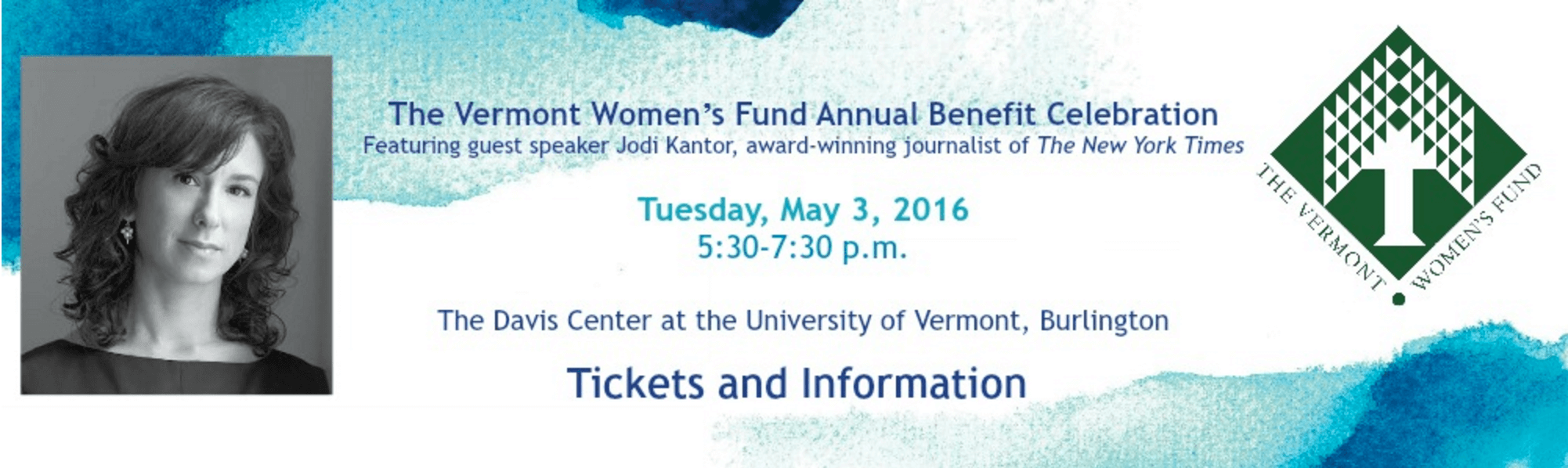 Join us for the VT Women's Fund Annual Fundraiser on May 3!