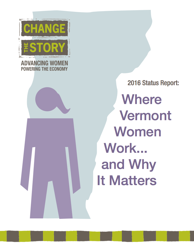 2016 Status Report: Where VT Women Work…and Why It Matters