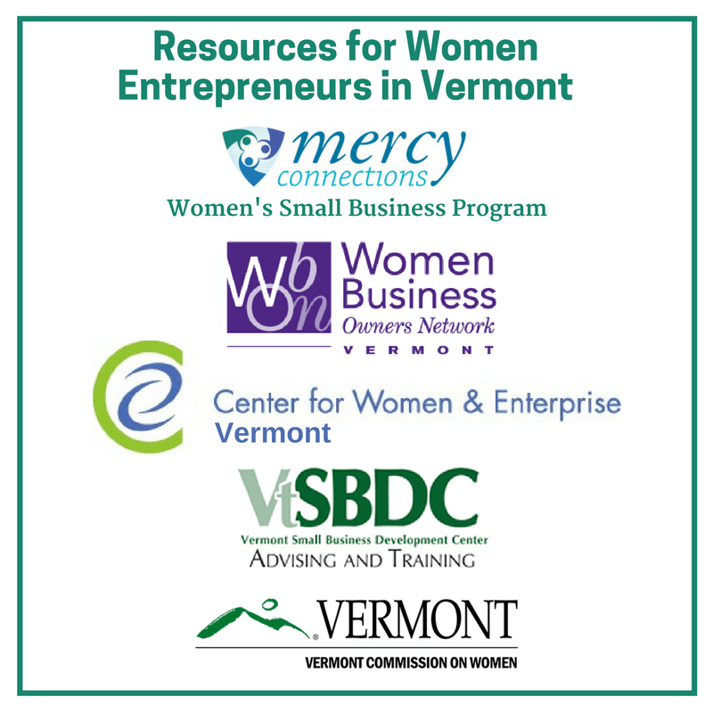Additional Resources for VT Female Entrepreneurs