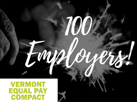 VT Commission on Women Celebrates 100th Signer to Vermont Equal Pay Compact