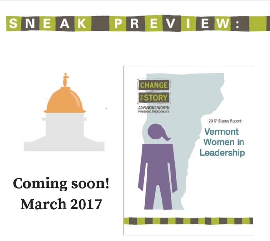 Sneak Preview of Vermont Women in Leadership